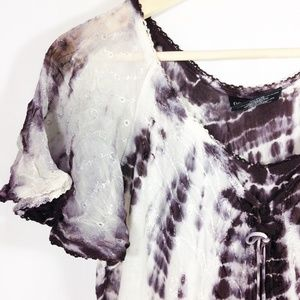 Beach Coverup Tie Dye One Size Fits All